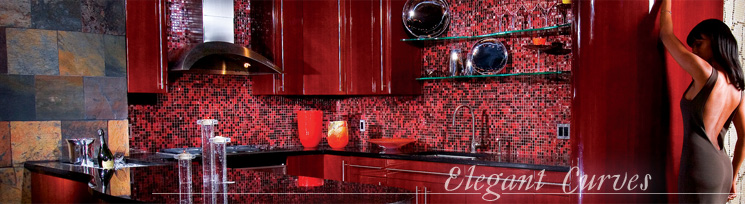 Elegant Curves - The Cava Kitchen